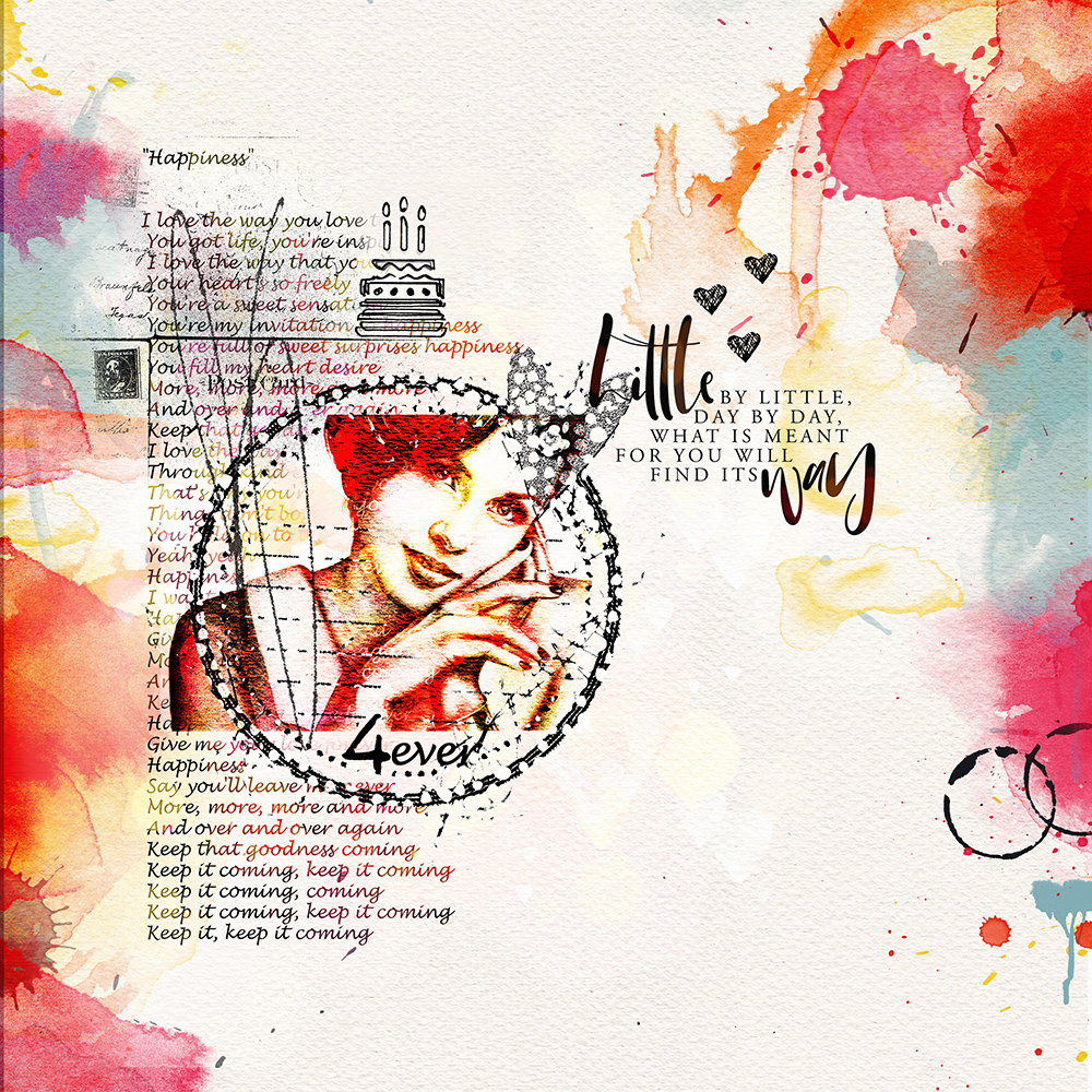 Layout inspiration for ArtCrush No18 by Marianne