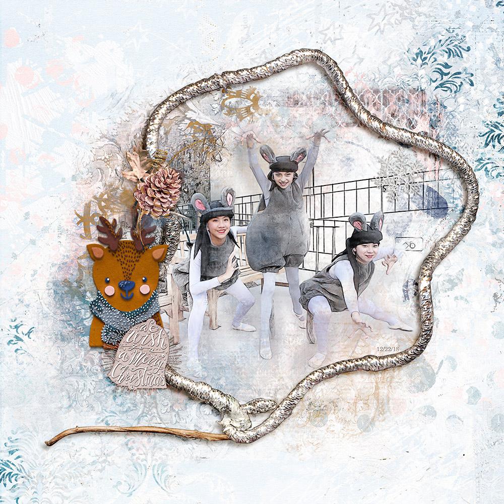 ArtCrush No22 Collection   – Inspiration by Flor (aka twinsmomflor)
