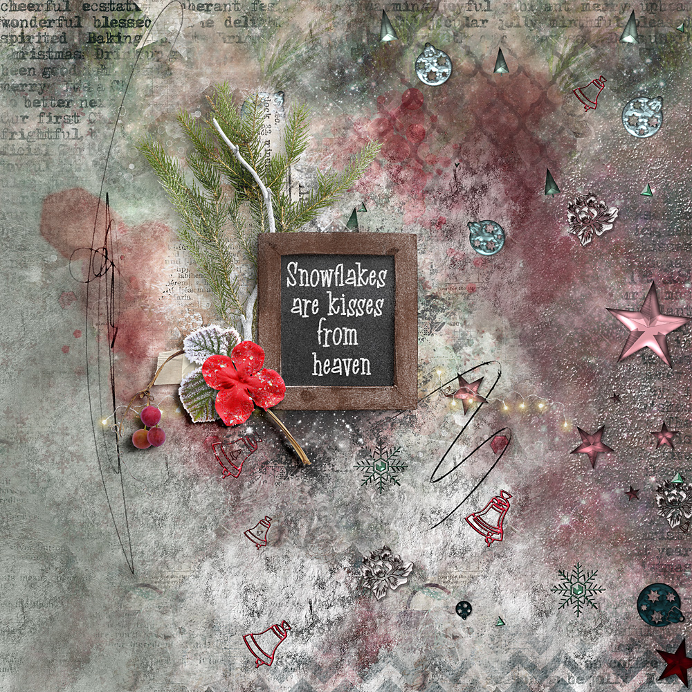 Chalky Christmas – Inspiration by Cindy