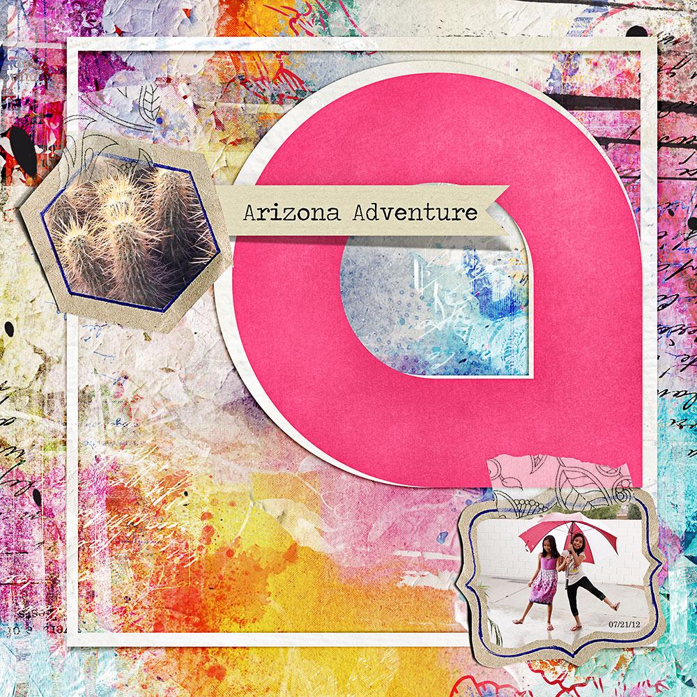 Mix & Match A-Z Album   – Inspiration by Flor (aka twinsmomflor)