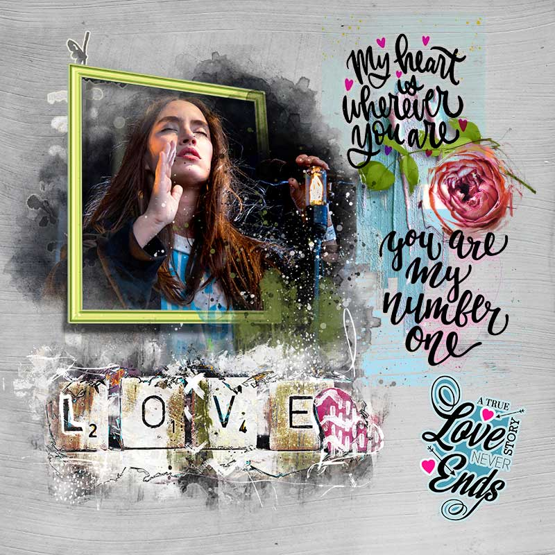 Easy Peasy Art & Love Cards – Inspiration by Trish