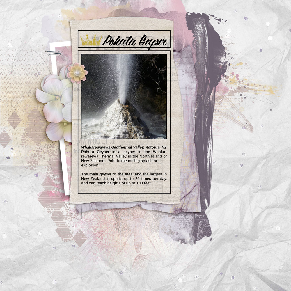 Daydream/Newspaper Clippings No2 Inspiration with Anne