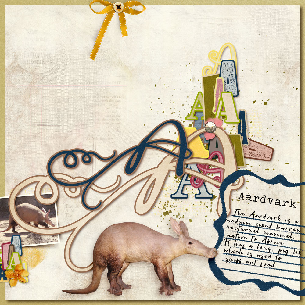 ABC Template Inspiration with Anne/aka Oldenmeade