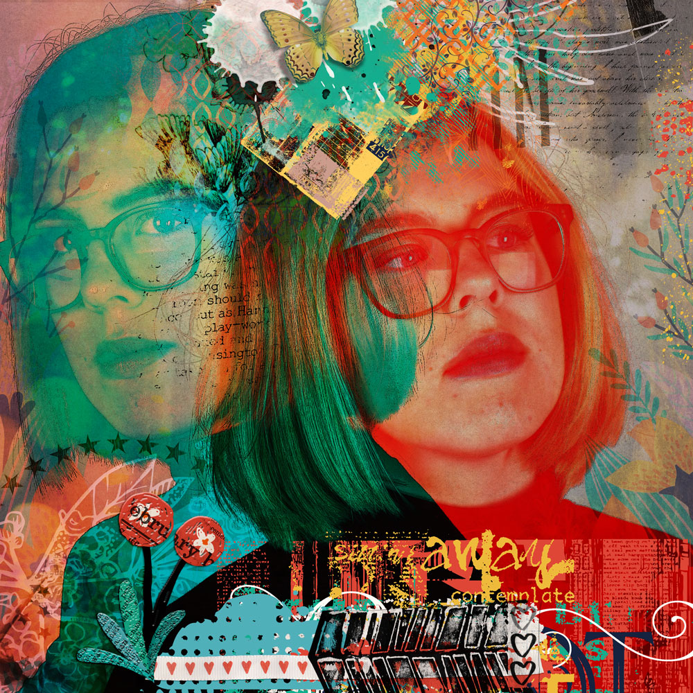 BYOC: artCrush No 23  Inspiration with Anne/aka Oldenmeade
