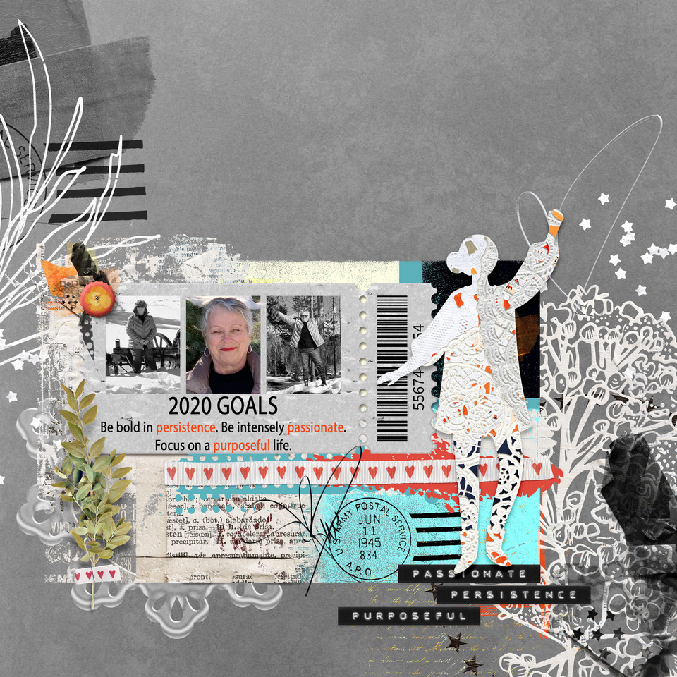 Layout inspiration by Danesa, using artCRUSH No23