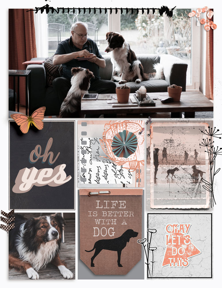 Simple Grid 1 Inspiration with Anne/aka Oldenmeade