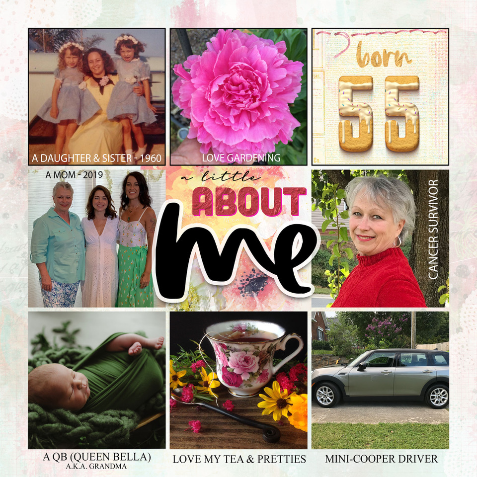 Layout inspiration by Danesa, using Nicole's Free Easy Peasy Storybook Template