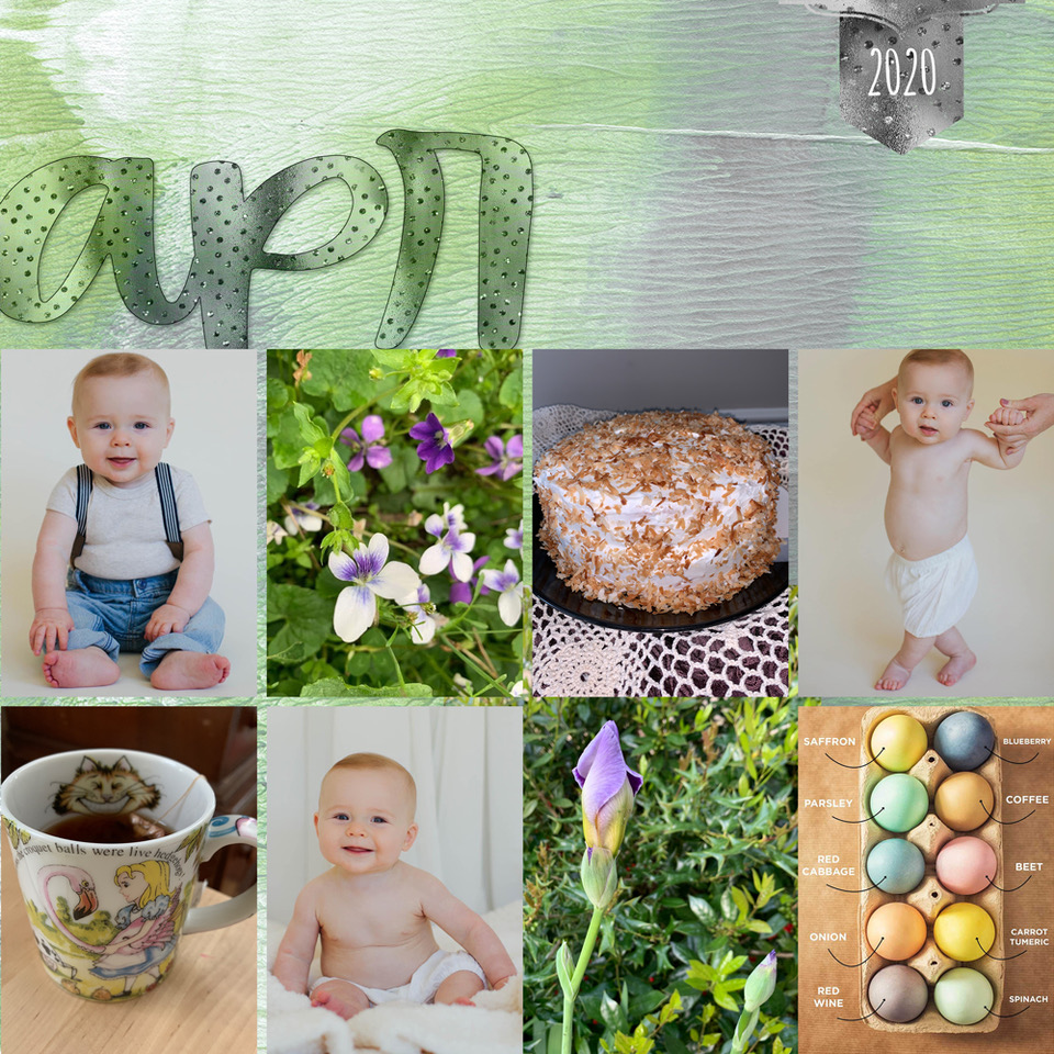 Layout, by Danesa, using Easy Peasy Templates Monthly Diary