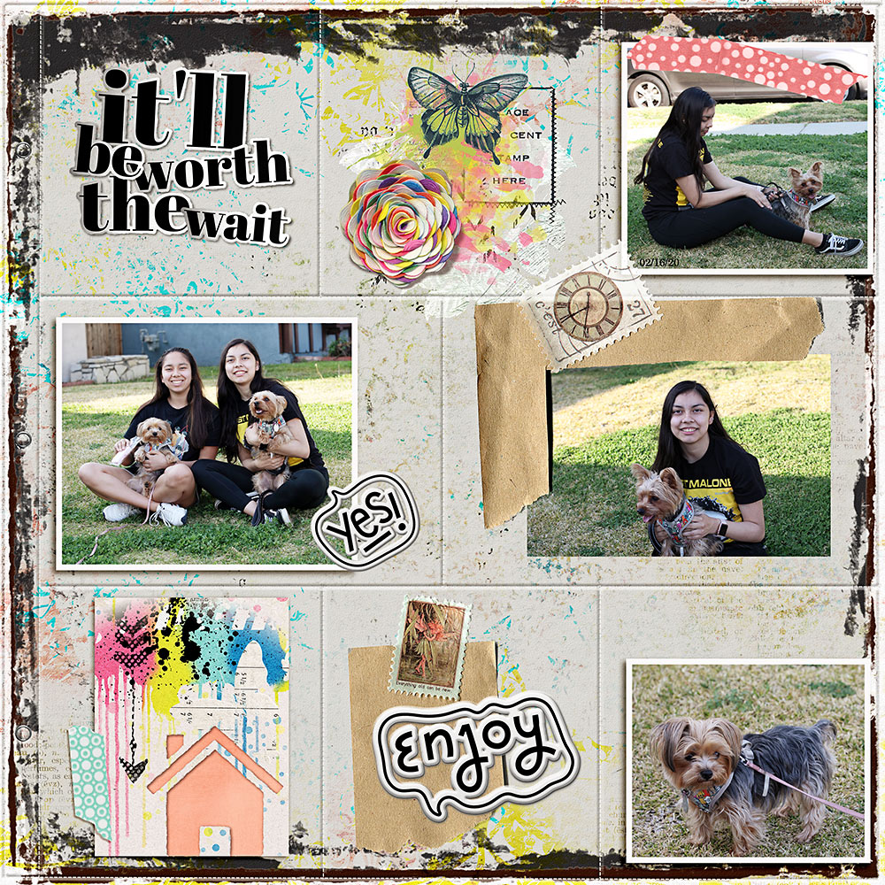 Easy Peasy Collections – Inspiration by Flor (aka twinsmomflor)