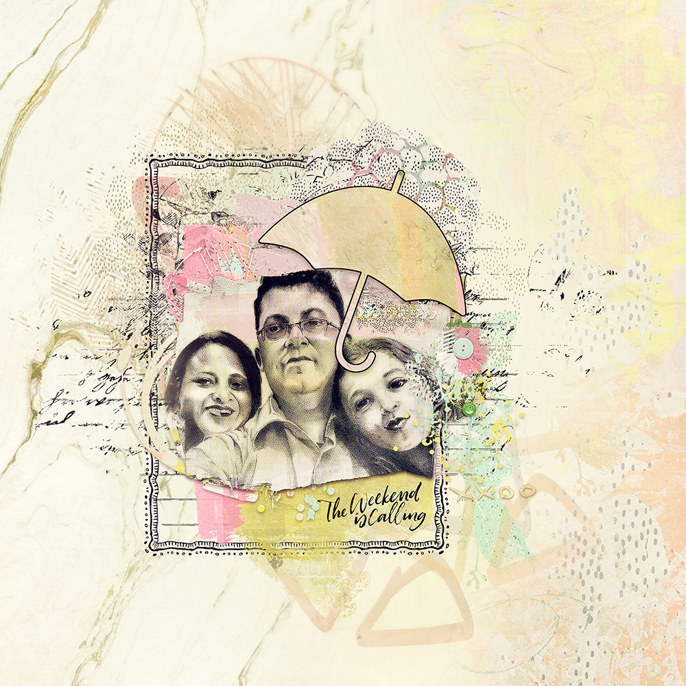 Layout inspiration for artCrush No 27 by Marianne