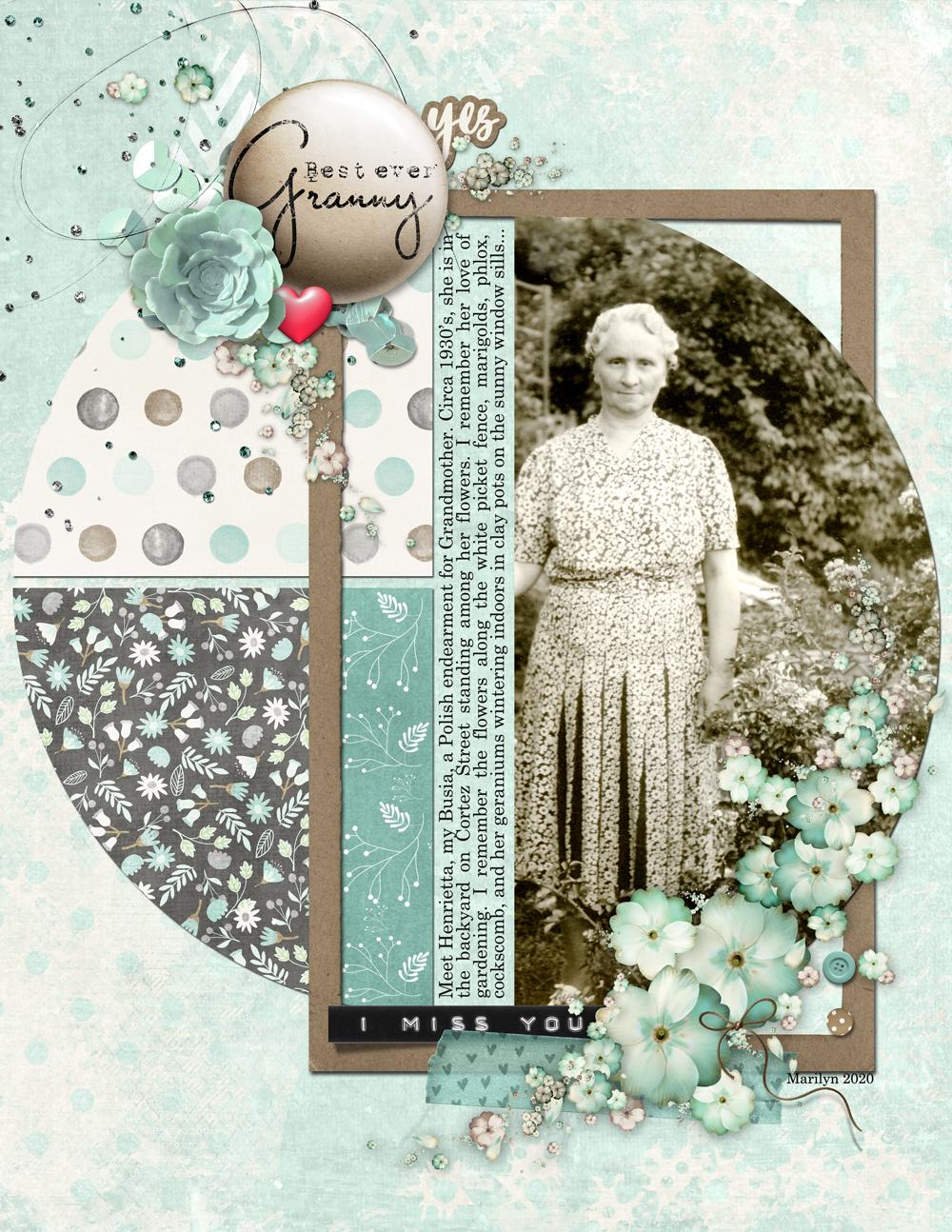 For Granny's Garden
