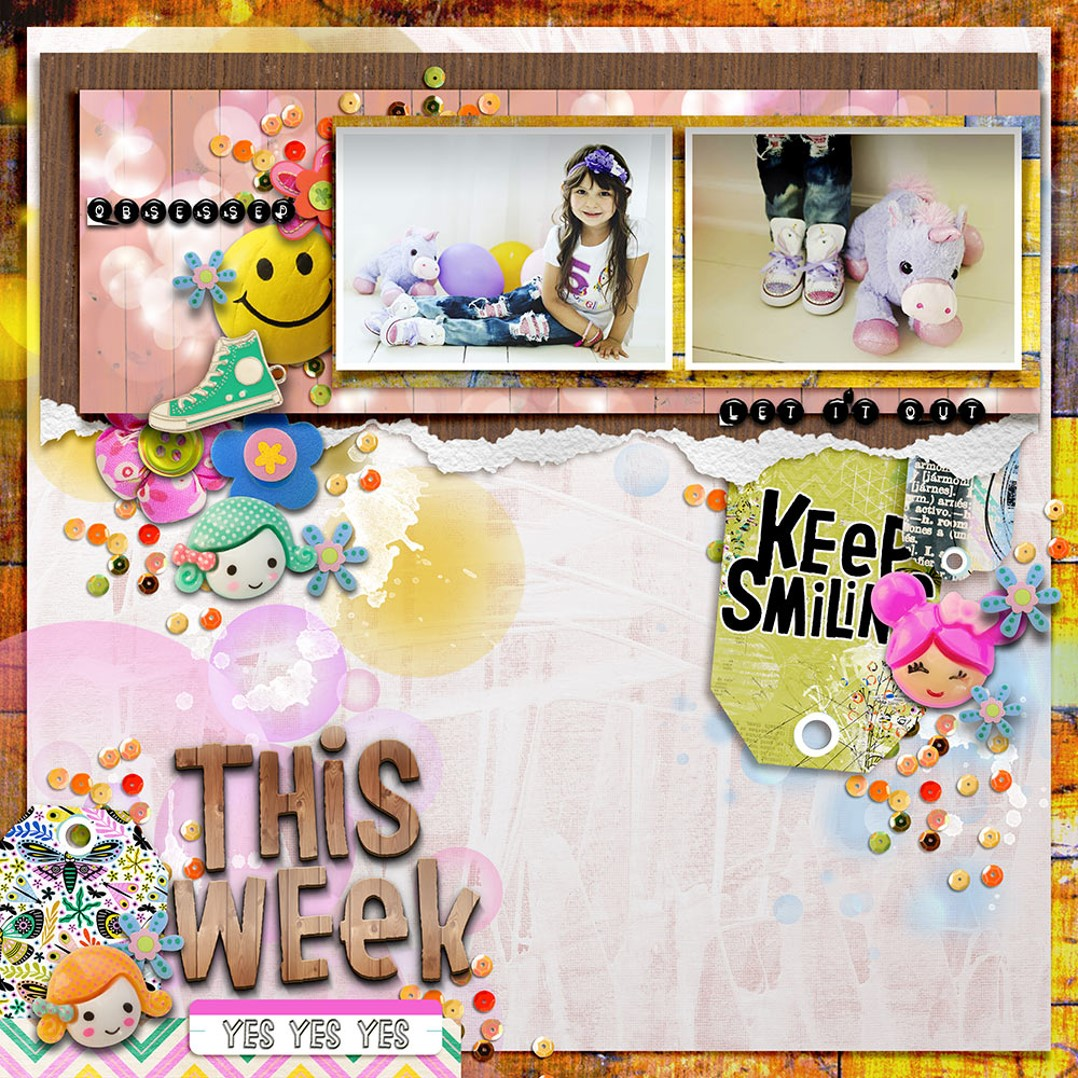 Inspiration from Anita using This & That Collection