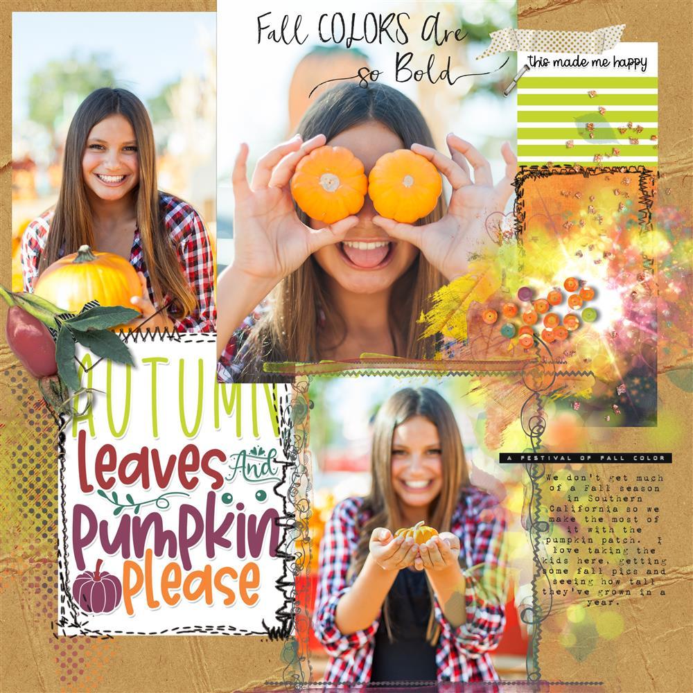 Autumn Breeze Mini Easy Peasy