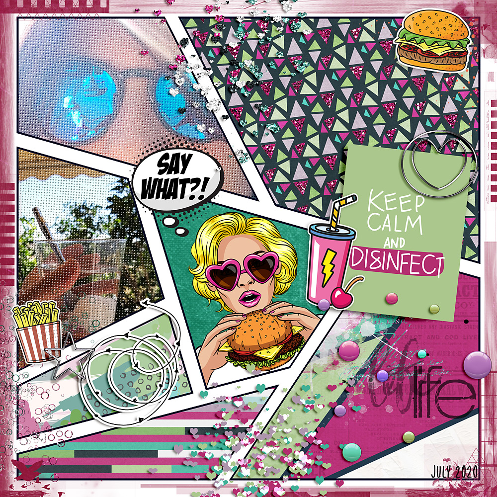 Layout inspiration by Cindy