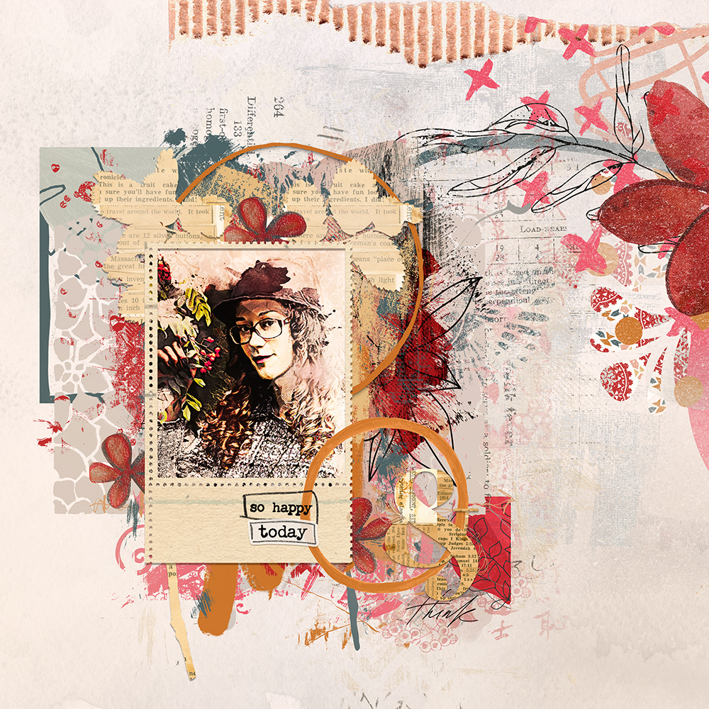Layout inspiration for the artCrush No31 Collection by Marianne